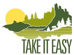 Take It Easy print by Brainstorm
