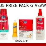 Enter to #win A VO5 Prize Pack (ends 7/11) #giveaways US ONLY