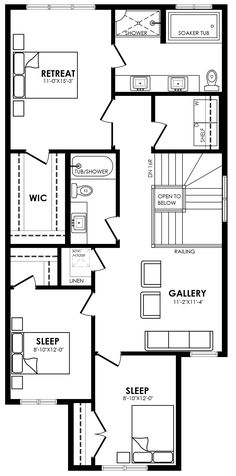 Maddy II Model Floor Plan by Pacesetter Homes Edmonton