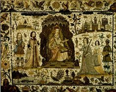 17th century stumpwork embroidery - Google Search
