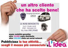 grafica da noi realizzata per Autogarage Specializzato Lancia -Rossano- CS