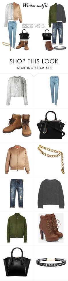 """""""look 12 Winter outfit"""" by cawdii on Polyvore featuring Filles à papa, Vetements, Chanel, Fendi, Givenchy, Hollister Co., Uniqlo, Topshop, JustFab and LULUS"""