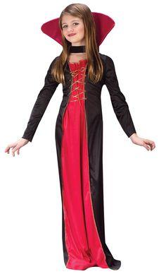 tween girl vampire costumes | Kids Victorian Vampiress Costume Kids Vampire Costumes - Mr. Costumes