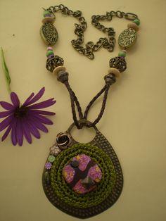 Reciclado de Bijouterie Artesanal: de un Aro Solitario a un Collar ...