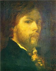 Self-portrait - Gustave Moreau