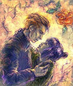 Gingerrose Love by solar-sea on DeviantArt Movie Couples, This Is Love, Tumblr, All Art, Solar, Star Wars, Fandoms, Deviantart, Artist