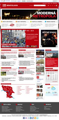 Redesign: www.bratislava.sk