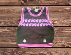 Girls Pullover Vest (Size: 3T)