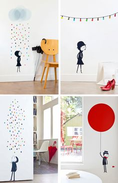 Co-blogger Iris does not really like wall decals for kids. But I am sure she will change her mind, when she she sees these stylish sticke...
