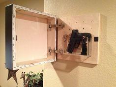 70+ cool hidden gun storage furniture ideas (2)