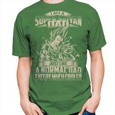Super Saiyan Vegeta and Trunks Dad Short Sleeve Shirt - PF00460SS