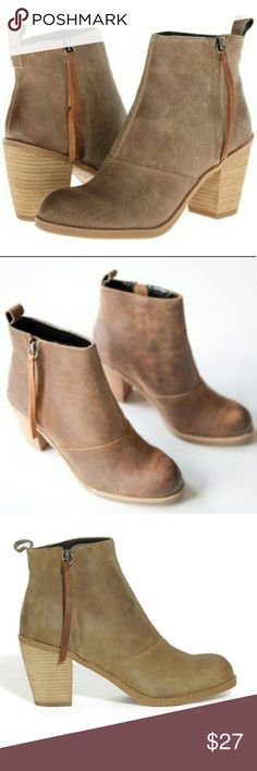 DV by DolceVita booties. 7 Tan leather bootie. Gently used. Dolce Vita Shoes Ankle Boots & Booties