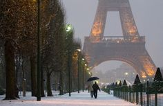 winter in paris...