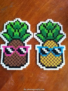 Fast and easy Perler Beads Designs, no matter what pattern you're looking, you can make it and decorate anything you want within a few minutes! Easy Perler Bead Patterns, Melty Bead Patterns, Perler Bead Templates, Diy Perler Beads, Perler Bead Art, Pearler Beads, Beading Patterns, Loom Patterns, Art Patterns