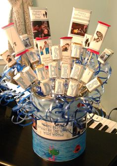 Father's Day Candy Bouquet