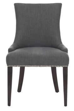 $161 Becca Nailhead Dining Chair - Accent Chairs - Seating - Living Room   HomeDecorators.com