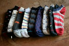 The new collection of Doormind socks