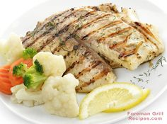 Amazing and delicious Sweet Lemon Butter Grilled Tilapia recipe for your Foreman Grill! This is SO easy, so delicious. make it tomorrow, thank us later. Fish Dishes, Seafood Dishes, Seafood Recipes, Dinner Recipes, Main Dishes, Dinner Ideas, Entree Recipes, Meal Ideas, Chicken Recipes