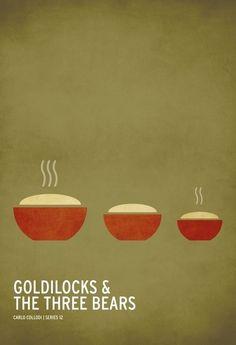 Les contes pour enfants en posters minimalistes