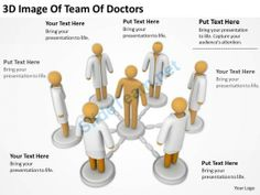 3D Image of Team Doctors Ppt Graphics Icons Powerpoint #Powerpoint #Templates #Infographics