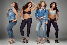 plus-size-models-jeans