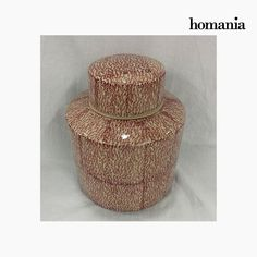 Vaso Gres Rosso (18 x 18 x 22 cm) by Homania Homania 27,86 € https://shoppaclic.com/portagioielli-e-vasi-in-ceramica/31112-vaso-gres-rosso-18-x-18-x-22-cm-by-homania-7569000932306.html