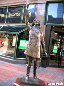 Mary Tyler Moore statue, Minneapolis, MN. Finding this in April/May when I am in town.