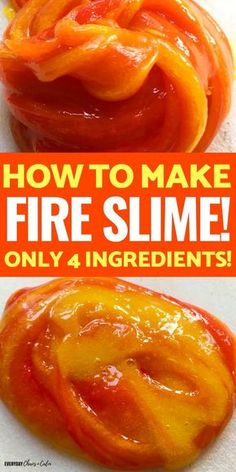 Fire Slime- A Simple Slime Recipe for Science Fun! Make this simple slime recipe for your kids! Great kids activity for all ages. Super simple slime recipe for hours of fun! Fire Safety Crafts, Fire Safety Week, Preschool Fire Safety, Kids Safety, Fireman Crafts, Firefighter Crafts, Community Helpers Activities, Preschool Activities, Community Helpers Art