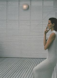 by barry lategan for jil sander spring summer 1991 ad campaign