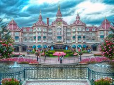 Disneyland Paris Hotel! Booked and set to go, can't wait! :)