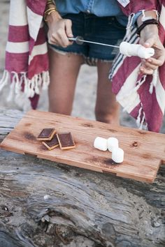 S'mores #beachbonfire