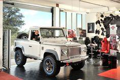 Landrover Defender 90 in for a Diesel interior by Ruskin Design