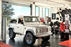 Landrover Defender 90 in for a Diesel interior by Ruskin Design