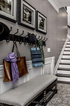 дневник дизайнера: Классический дизайн прихожей в частном доме. 80 красивых фото