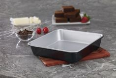 CUISINART AMB-9SCK 9-Inch Chef's Classic Nonstick Bakeware Square Cake Pan Silver $9.95 PICK UP OR CULINART MARKET WILL SHIP TOTALLY FREE CULINART MARKET www.shopculinart.com