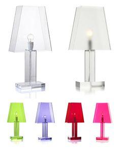 Siluett looking table lamp