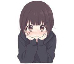 Menhera little girl. EN – LINE stickers Dibujos Anime Chibi, Cute Anime Chibi, Cute Anime Pics, Anime Girl Cute, Anime Neko, Kawaii Anime Girl, Anime Art Girl, Manga Girl, Arte Do Kawaii