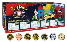 Toys and Accessories To Take Your Blanket Fort To the Next Level: Fort Magic, a TinkerToy-like kit to make amazing forts