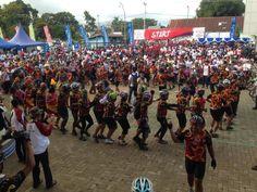 Circle dance,Merauke .Papua ,Indonesia