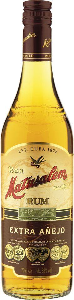 Matusalem Rum Extra Anejo.