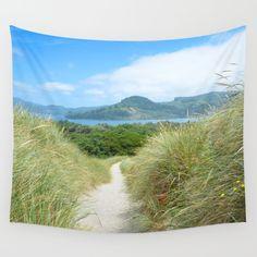Sunny Nehalem Bay Wall Tapestry