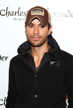 Enrique Iglesias - Hot 99.5's Jingle Ball 2012 Presented By Charleston Alexander Diamond Importers - PRESS ROOM