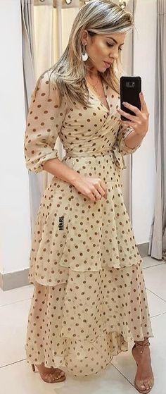 Sewing Dresses For Women, Look Fashion, Womens Fashion, Ladylike Style, Elegant Woman, Modest Fashion, Elegant Dresses, Dress Patterns, Dress To Impress