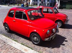 little red monsters Fiat 500, Little Red, Monsters, Mini, Autos, The Beast