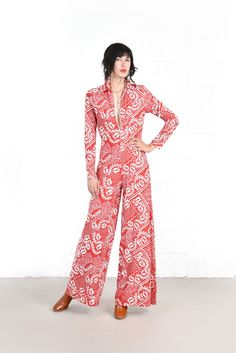 Riley Bandana Print Wide Leg Jumpsuit | BUSTOWN MODERN