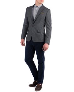 Ted Baker POKANT - Single button blazer.  Just bought one with a slight different contrasting thread (purple).  Very nice fit indeed!