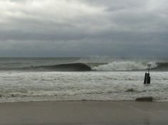 Hurricane Sandy hits Rockaway.