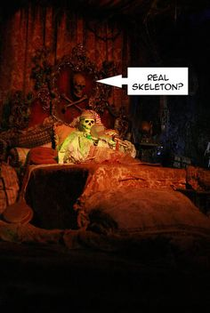 Disneyland Secret #4   Skeletons of the Caribbean - Fresh Baked Disney