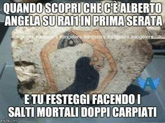 Meme di @stepiccin sul gruppo fb Angelers - Fan di Alberto Angela