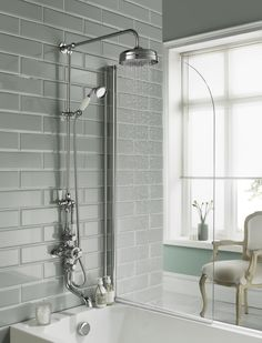 Topaz rigid riser kit with triple exposed shower valve